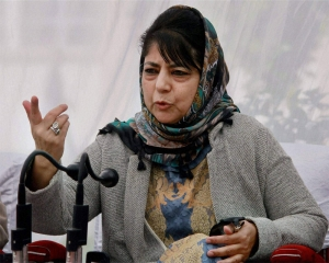 India needs to show its soft face to people of Kashmir: Mehbooba