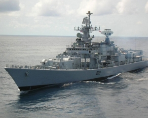 Indian Navy ship seizes arms and ammunition off Somali coast