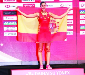 Momota, Marin bag top honours
