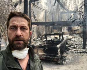 Mylie Cyrus, Gerard Butler lose house in California wildfire