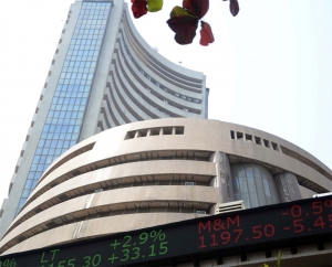 Nifty opens in red, Sensex down 100 points