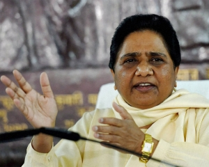 No post-poll tie-up with BJP or Cong in C'garh: Mayawati