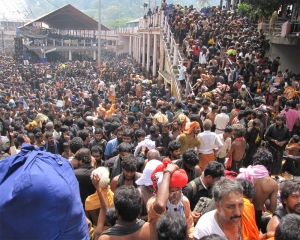 Sabarimala issue: Massive BJP rally in Kerala capital