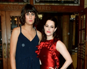 Teddy Geiger and Emily Hampshire get engaged
