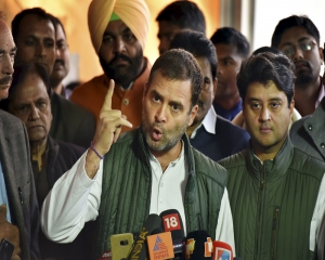 Won't let PM sleep until all farms loans waived: Rahul Gandhi