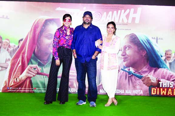 'I didn't choose Taapsee & Bhumi, they chose me'