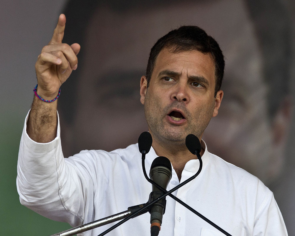 'Nyay' money to come from Choksi, Nirav, Mallya pockets: Rahul