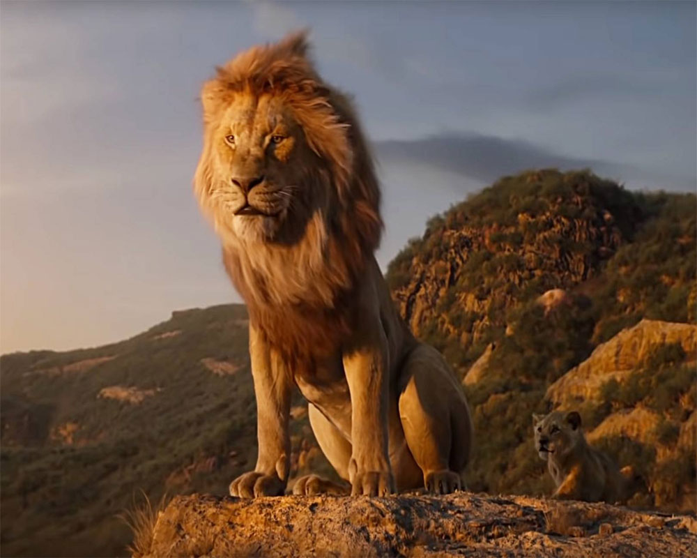 'The Lion King' update: Rs 74.59cr in India till Monday