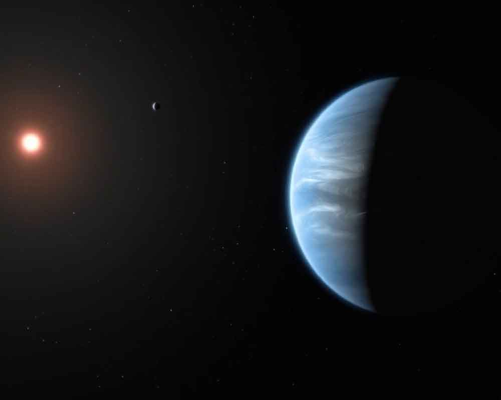 'Water found for the first time on super-Earth exoplanet'