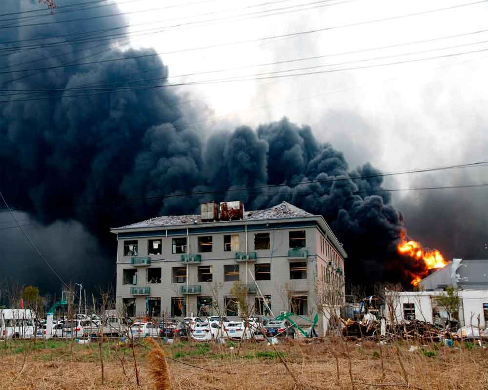 Death toll in China's factory blast rises to 10