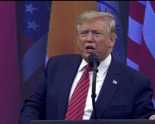 Border security vital to both America and India: Trump