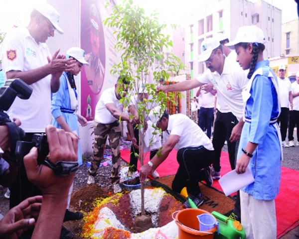 CISF inaugurates water conservation plan