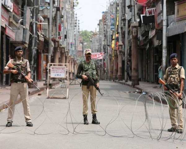 India did not consult on Kashmir issue: US official