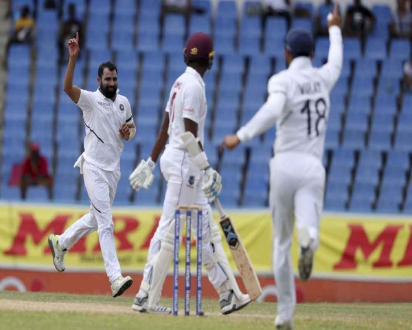 India end Day 3 at 185/3, lead West Indies by 260 runs