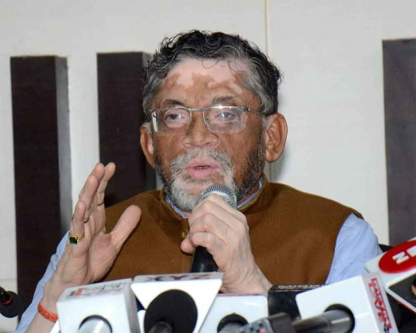 North Indian youths incapable of getting jobs: Santosh Gangwar