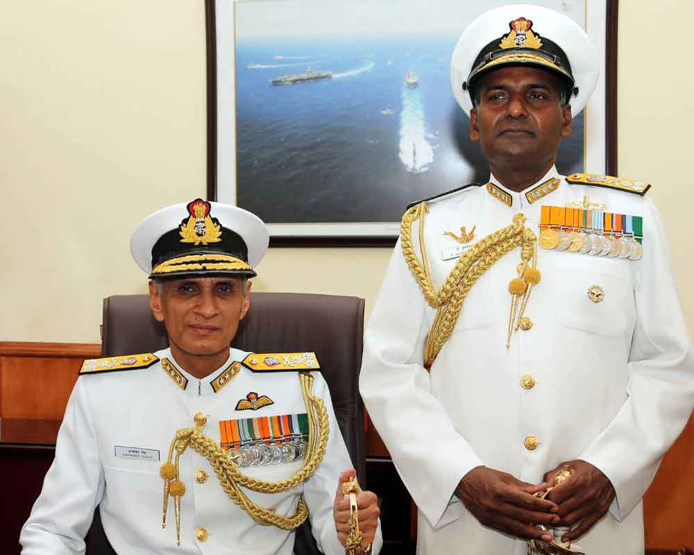 Admiral Karambir Singh assumes charge as new chief of Naval Staff