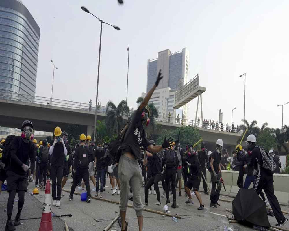 After night of clashes, Hong Kong braces for fresh rally