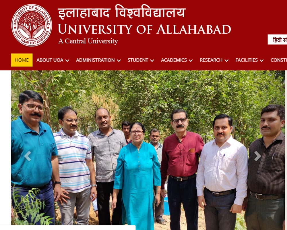 Allahabad University Entrance Test Result 2019