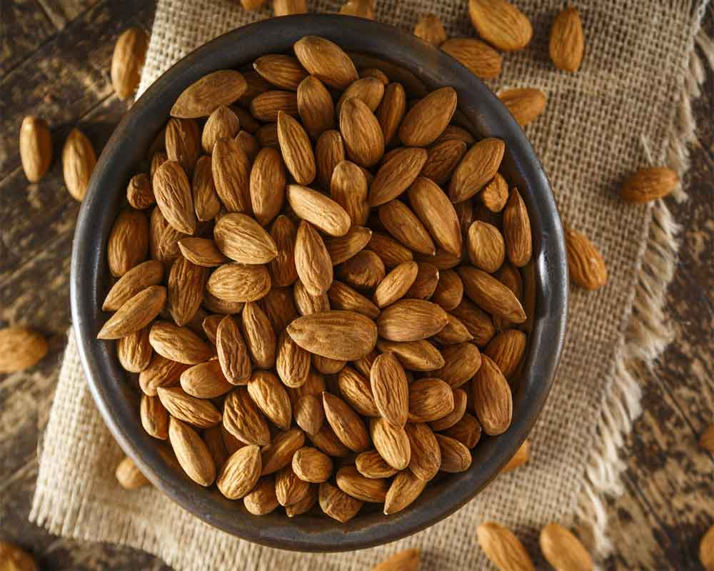 Almonds preferred snacking nut, pre & post workout: Study