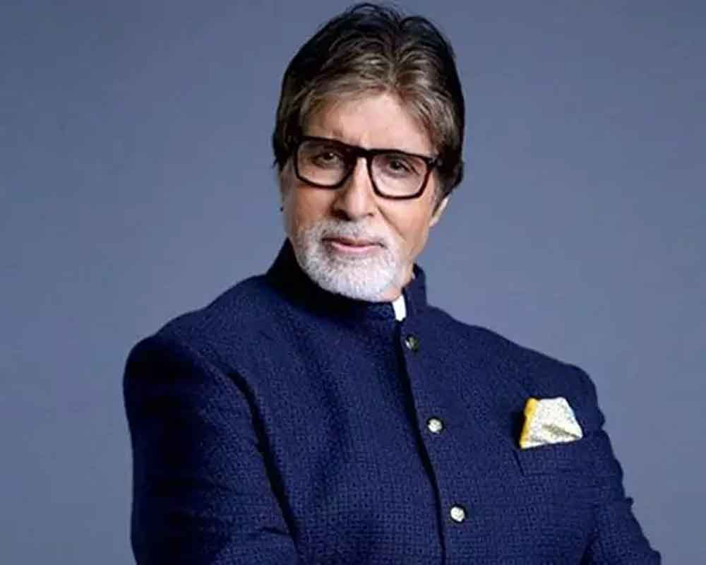 Amitabh Bachchan shoots for 'Brahmastra' in freezing Manali