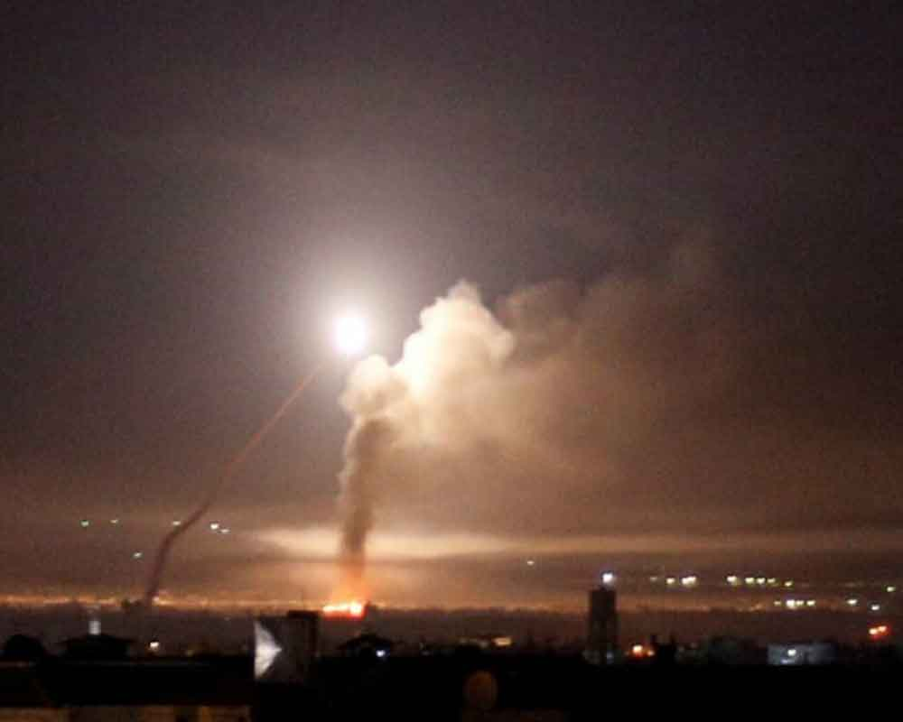 Ammunition depot explodes in Syrian capital: state media