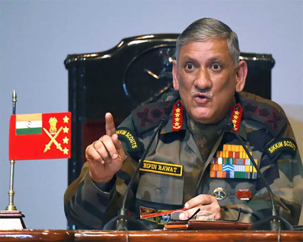 Army chief downplays Pak ramping up troops along LoC, says it's normal