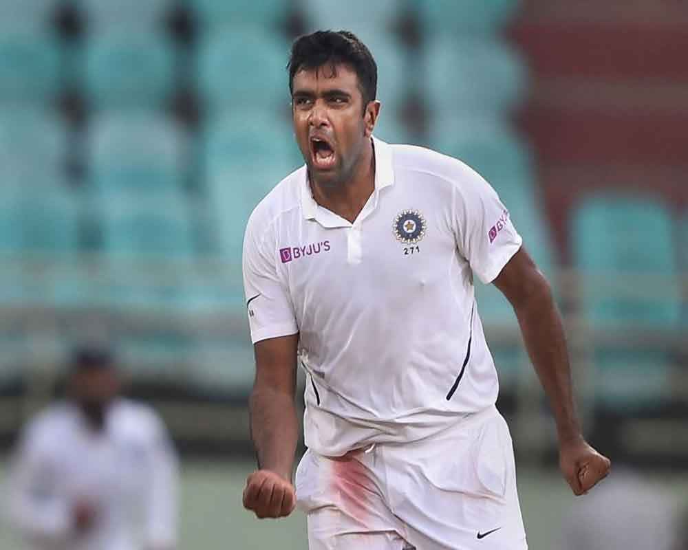 Ashwin joint fastest to 350 Test wickets alongside Muralitharan
