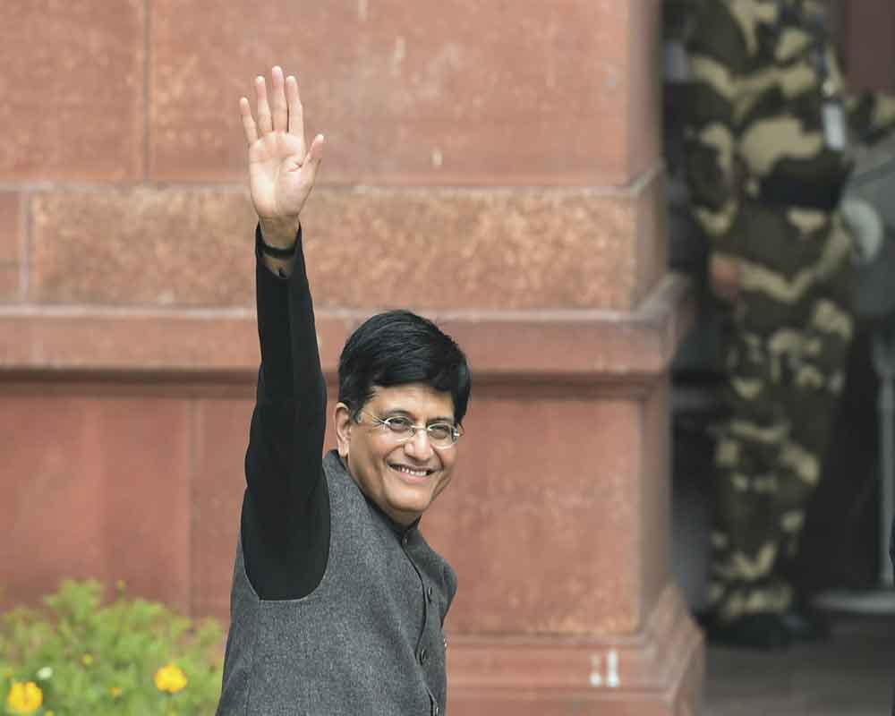 Average rate of inflation down to 4.6%: Goyal