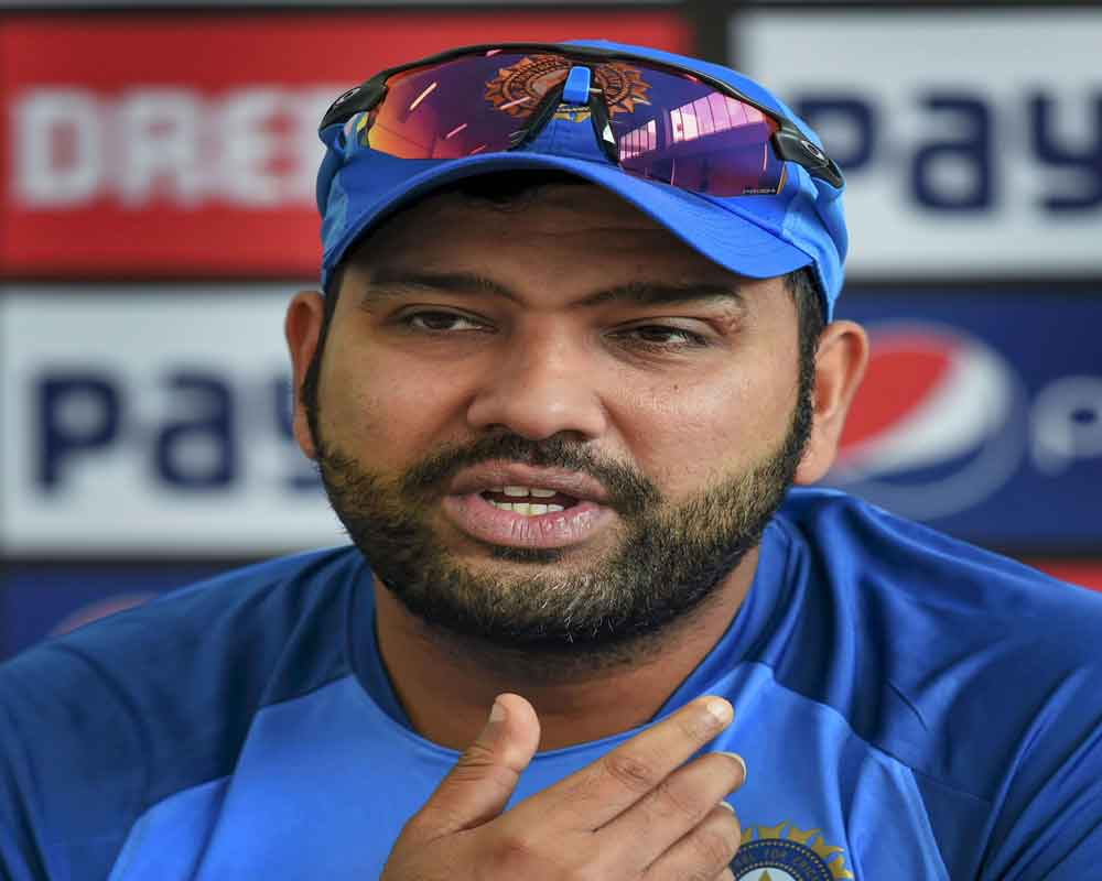 Batting looks good, pace combination will depend on track: Rohit