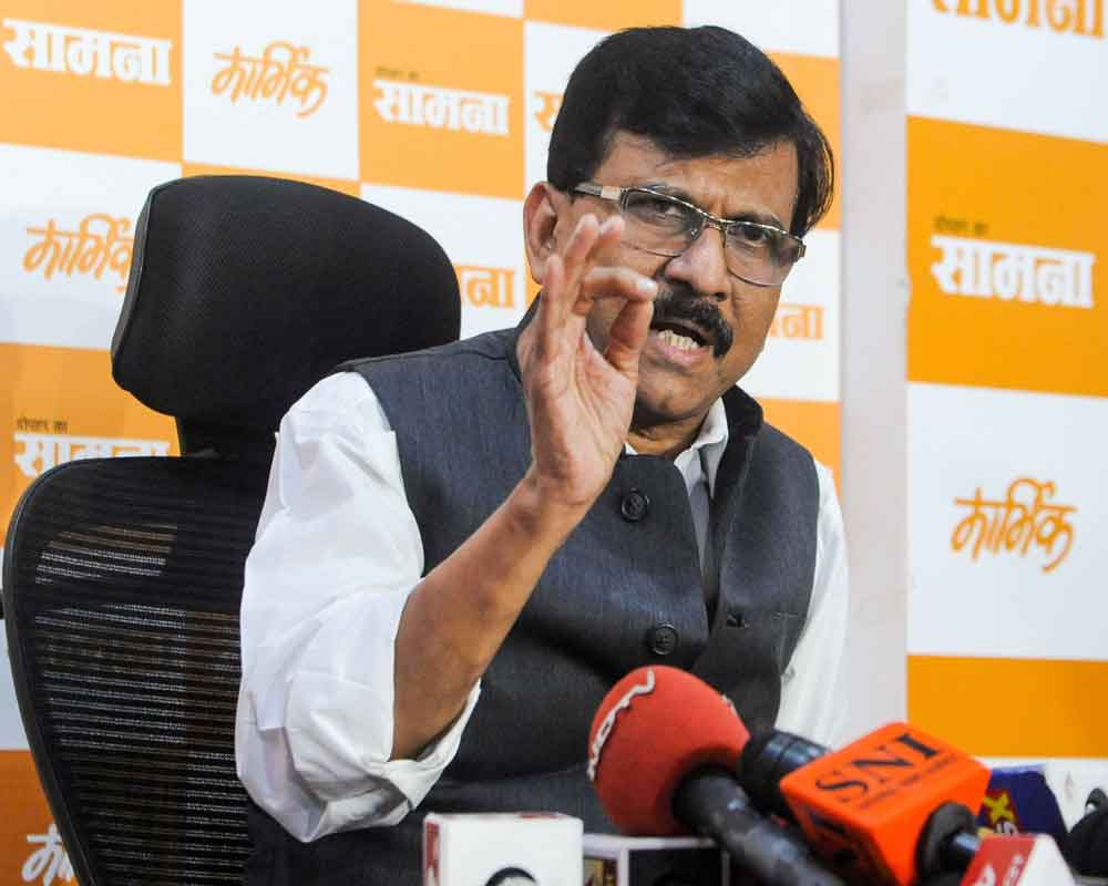 Best wishes if you think you can form govt: Raut to Fadnavis