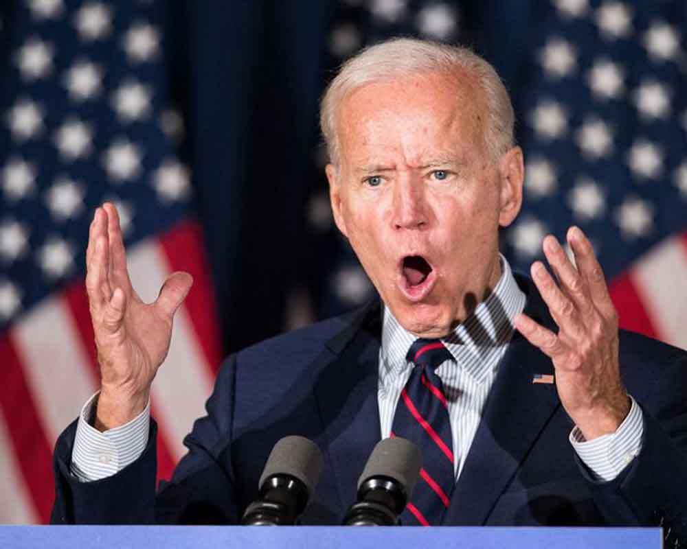 Biden for first time calls for Trump's impeachment