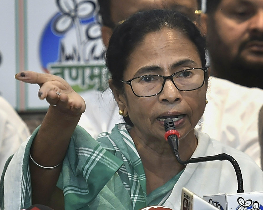 BJP can't win single seat in WB, they are trying to hide behind central forces: Mamata