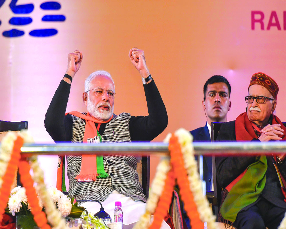 BJP committed for Mandir: Shah