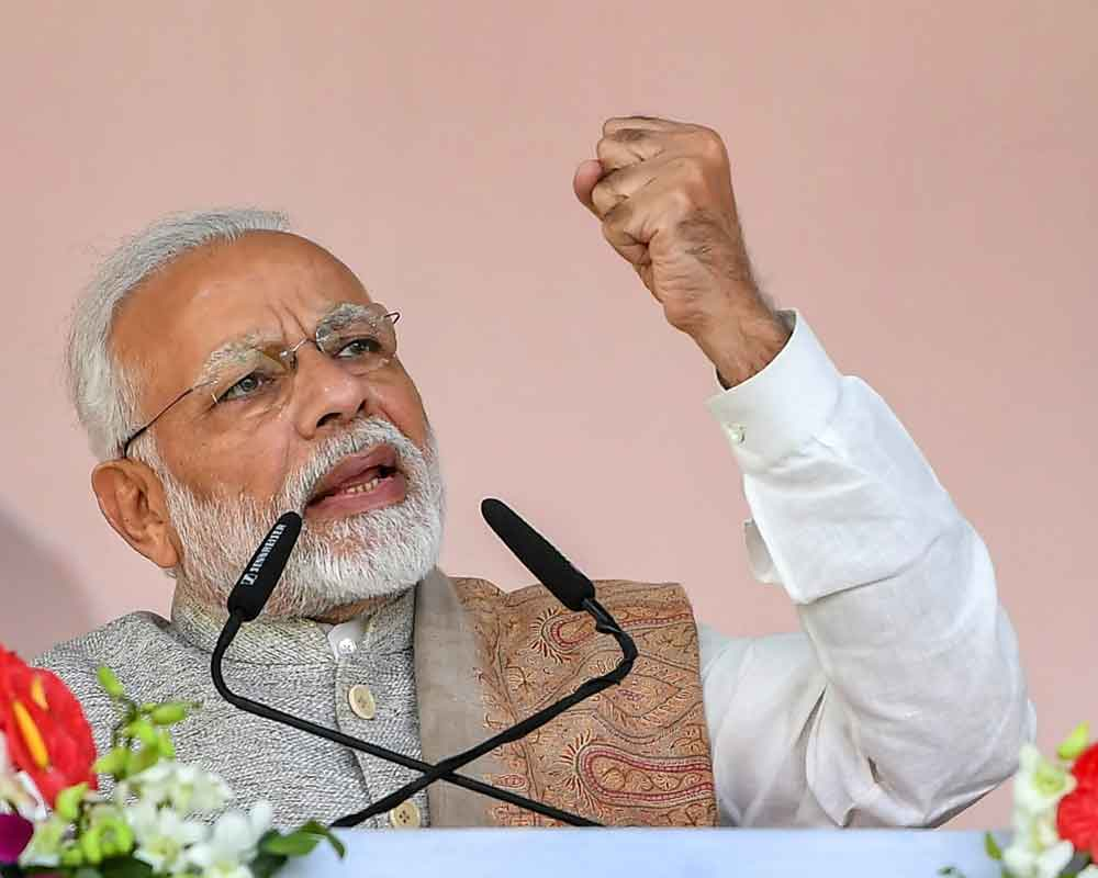 BJP open to alliances, cherishes old friends, says PM