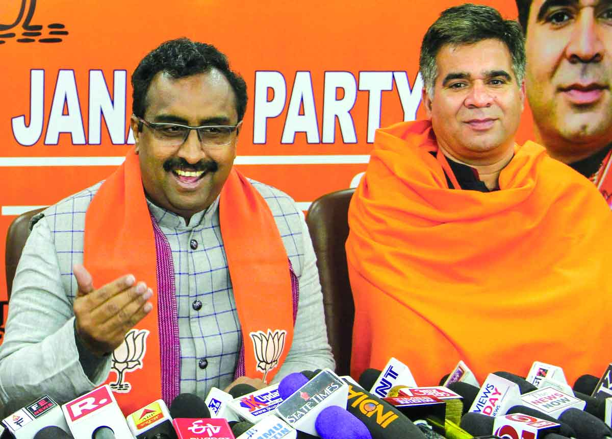BJP road map for Pandits' rehab, return to Valley ready: Madhav