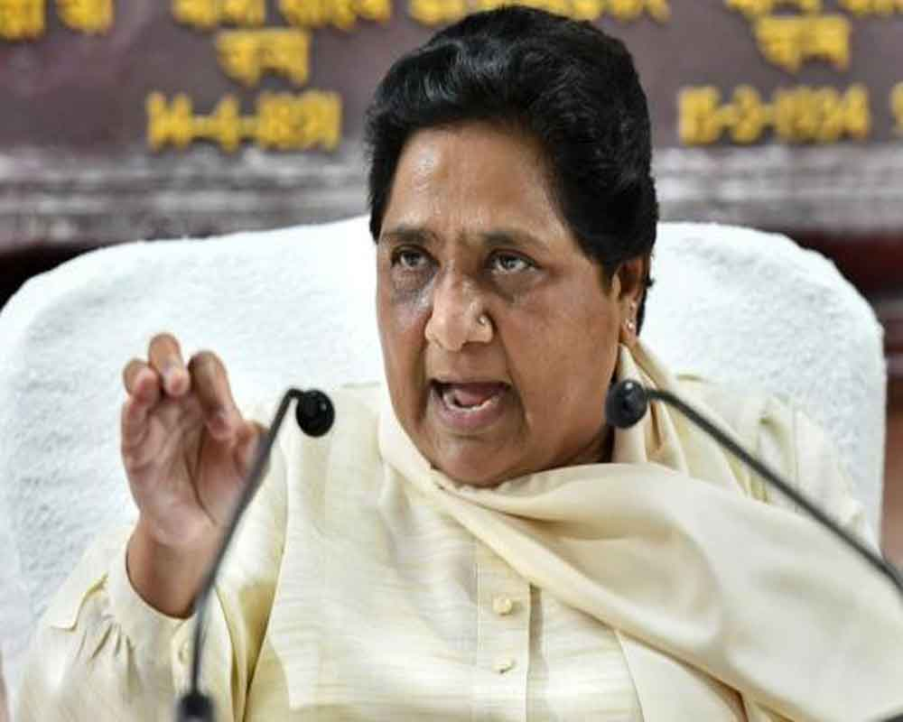 BJP's 'one nation, one poll' a ploy to win all elections by single 'manipulation': Mayawati