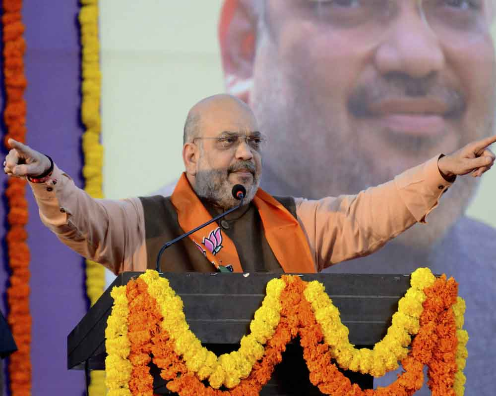 BJP should run from workers' contributions, not donations from money bags: Shah