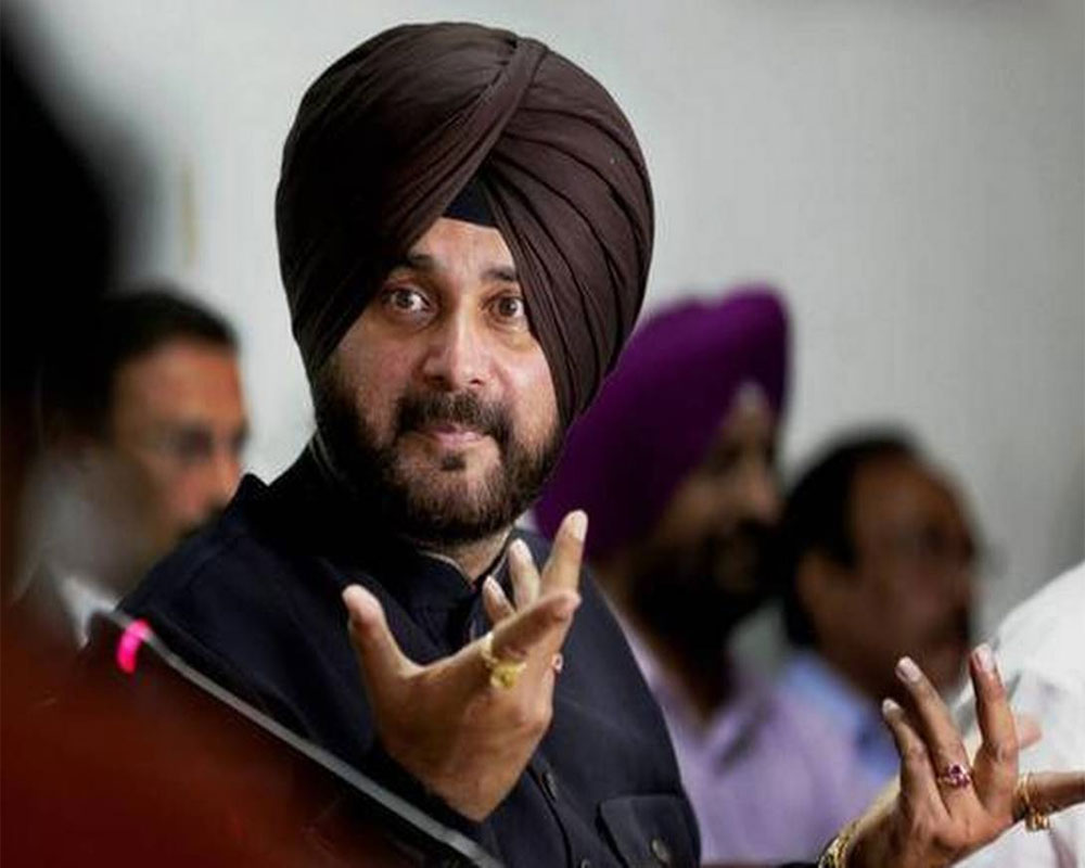 BJP slams Congress for Sidhu's speech, accuses it of dividing people