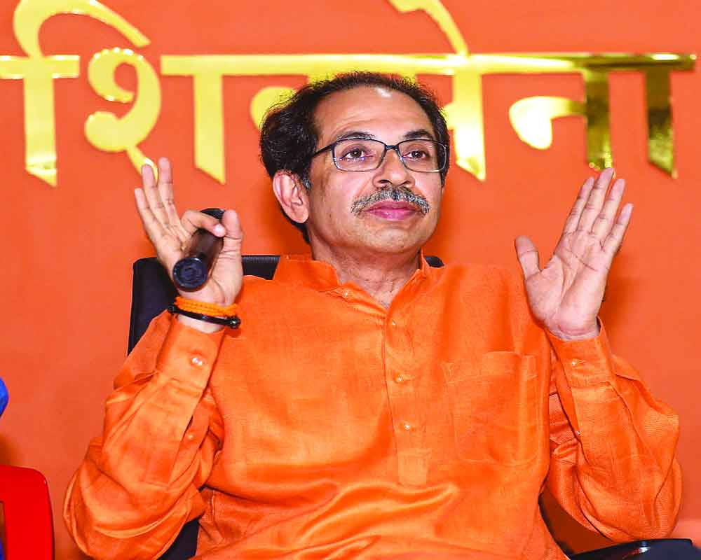 BJP talks tough, Sena retorts