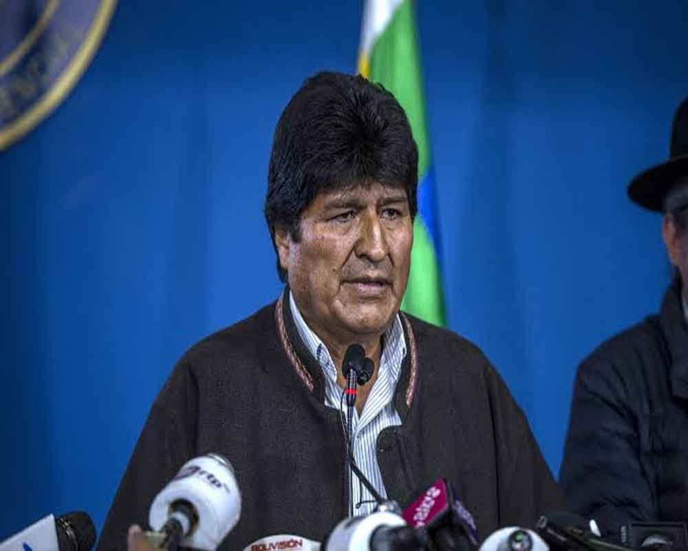 Bolivia's Morales says ready to return to 'pacify' country