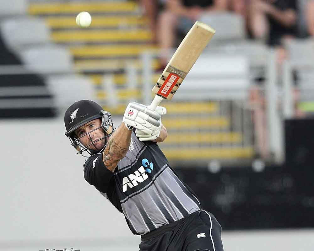 Bracewell, Kuggeleijn set up New Zealand's T20 win