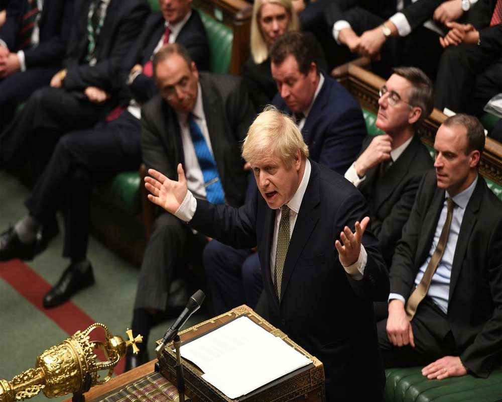 British PM's Brexit deal wins first vote in new parliament