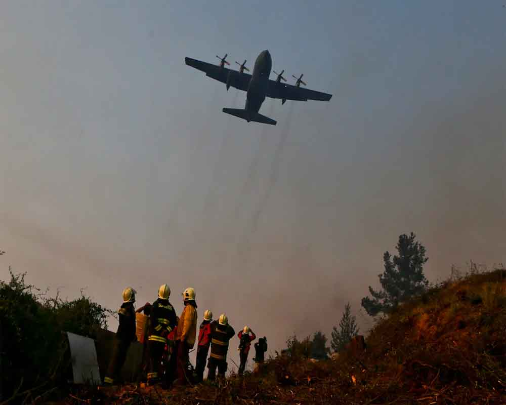 Chile military plane disappears with 38 aboard: Air Force