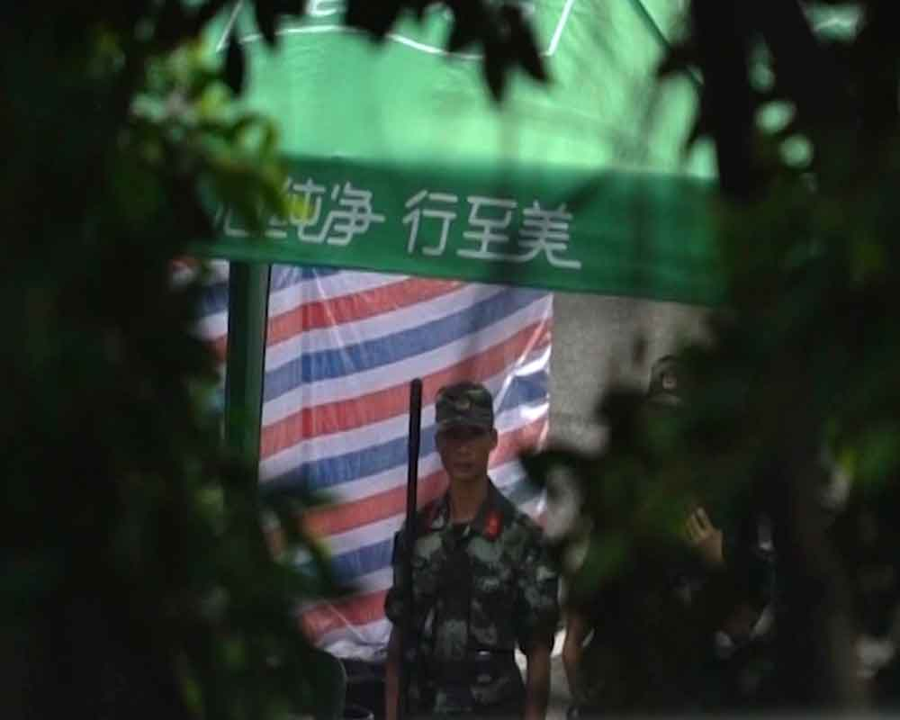 China police exercises across from Hong Kong seen as threat