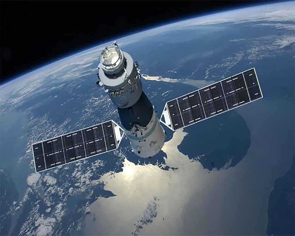 China's experimental space lab to re-enter earth's atmosphere