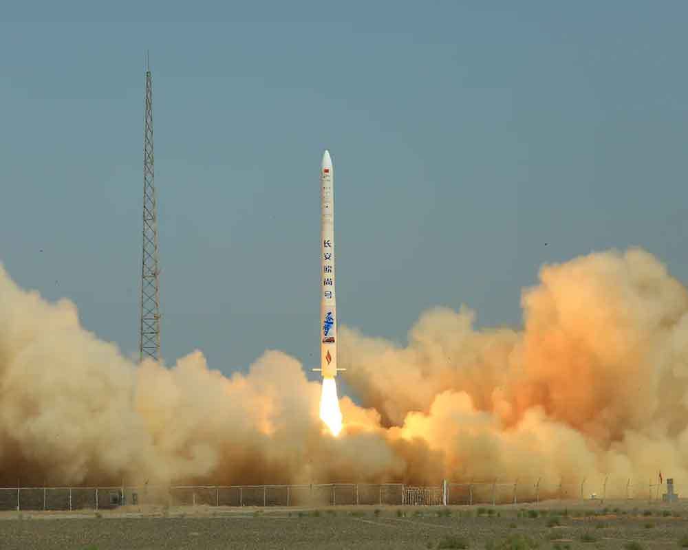 China successfully launches new rocket for commercial use