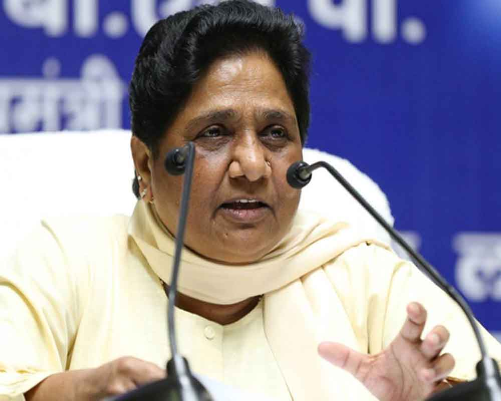 Communal forces getting stronger due to Cong: Mayawati
