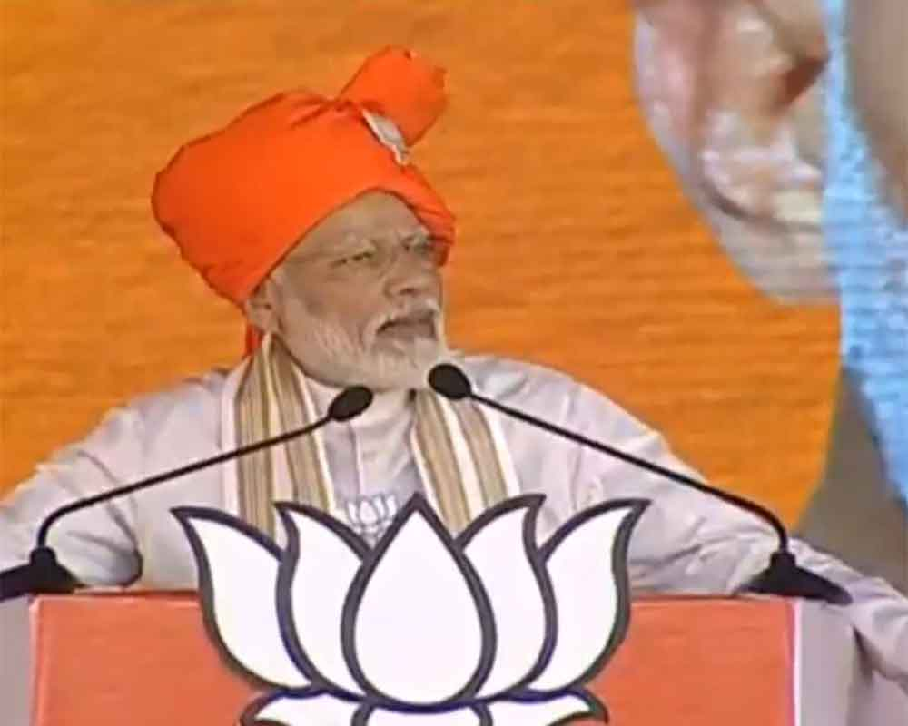 Cong has 'already accepted defeat' in Haryana polls, says Modi