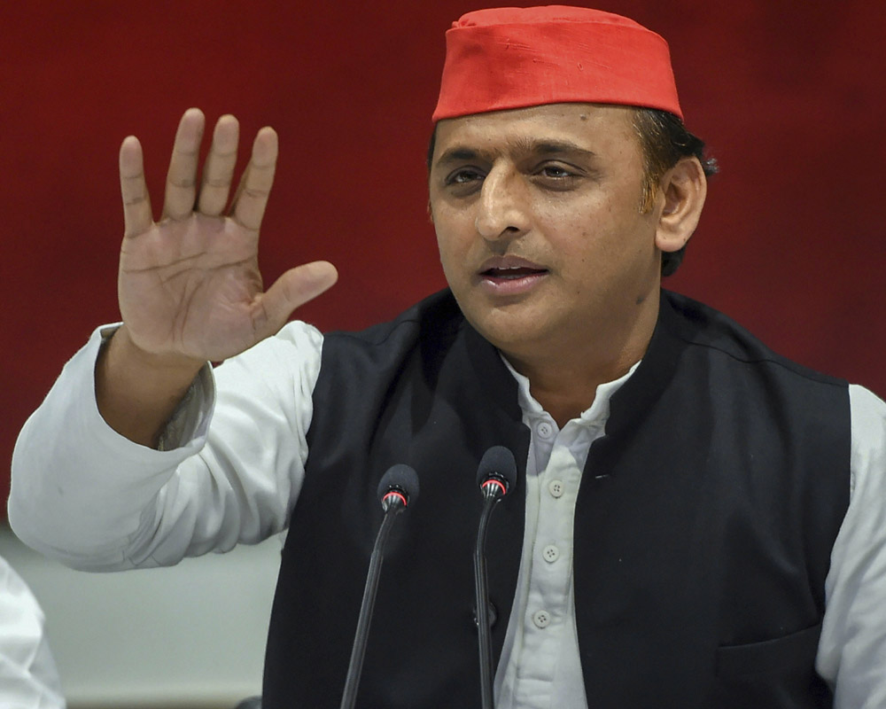 Cong kept out of UP alliance to correct poll arithmetic: Akhilesh