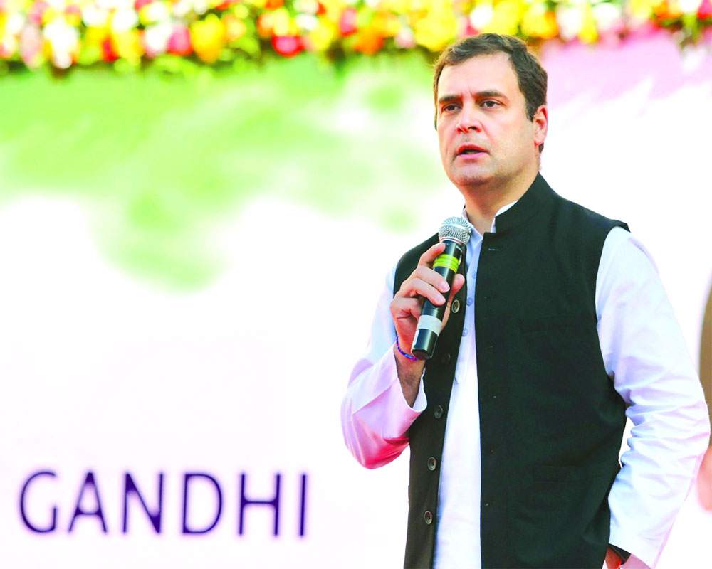 Cong plans UP strategy, Rahul to address 13 rallies